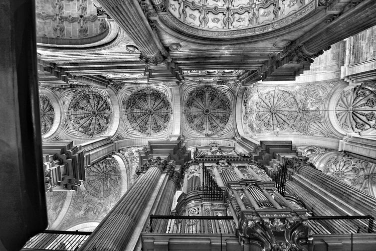 History Cultures Architecture Place Of Worship Cathedral Malaga Cathedral Malaga Catedral Cathedral Ceiling Cathedral Ceilng Blackandwhite Black & White Black And White Blackandwhite Photography Black And White Photography Malaga Málaga,España Church Organ Church Organ Pipes Cathedral Interior Catholic Church Catholic Architecture Malaga Spain EyeEm Black&white! Eyeem Black And White