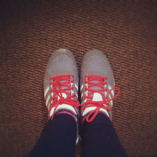 Making the most of my Games Maker trainers! Olympics2012 Love Memories