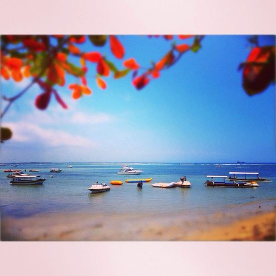 Beachphotography Bali Benoa Bay