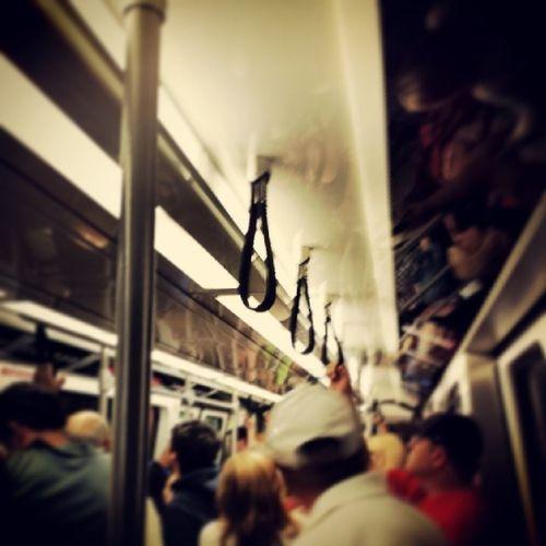 Controlled chaos. ATL Atlanta Hartsfieldjackson Tobtv train travel