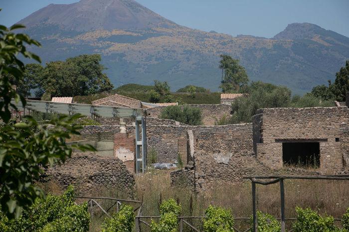 Day Italia Napoli No People Pompei. Archeologia Pompeii  Pompeii Details Pompeiscavi Sky