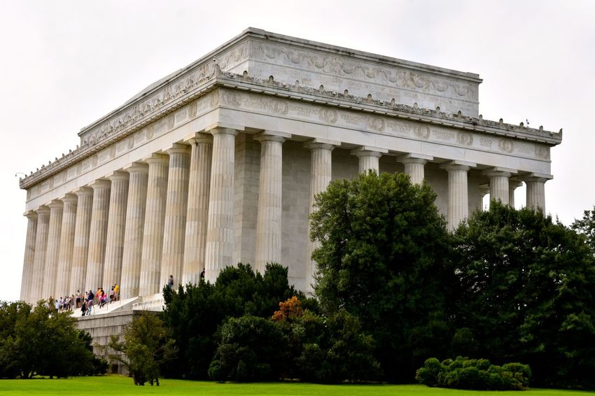 Lincoln Memorial Lincoln Memorial, Washington DC Lincoln Monument Travel Travel Photography USA Washington DC Washington, D. C. Abraham Lincoln Architectural Column Architecture Building Exterior Built Structure City History Tourism Travel Travel Destinations