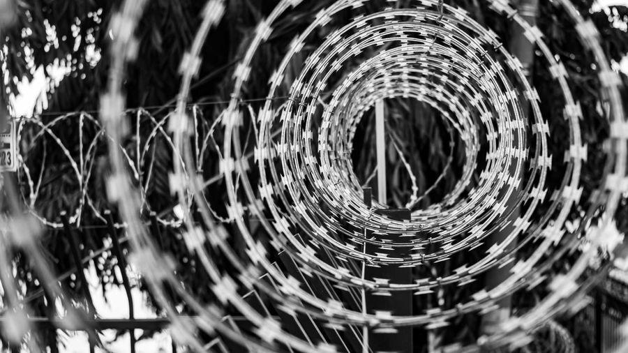 Full frame shot of spiral rope