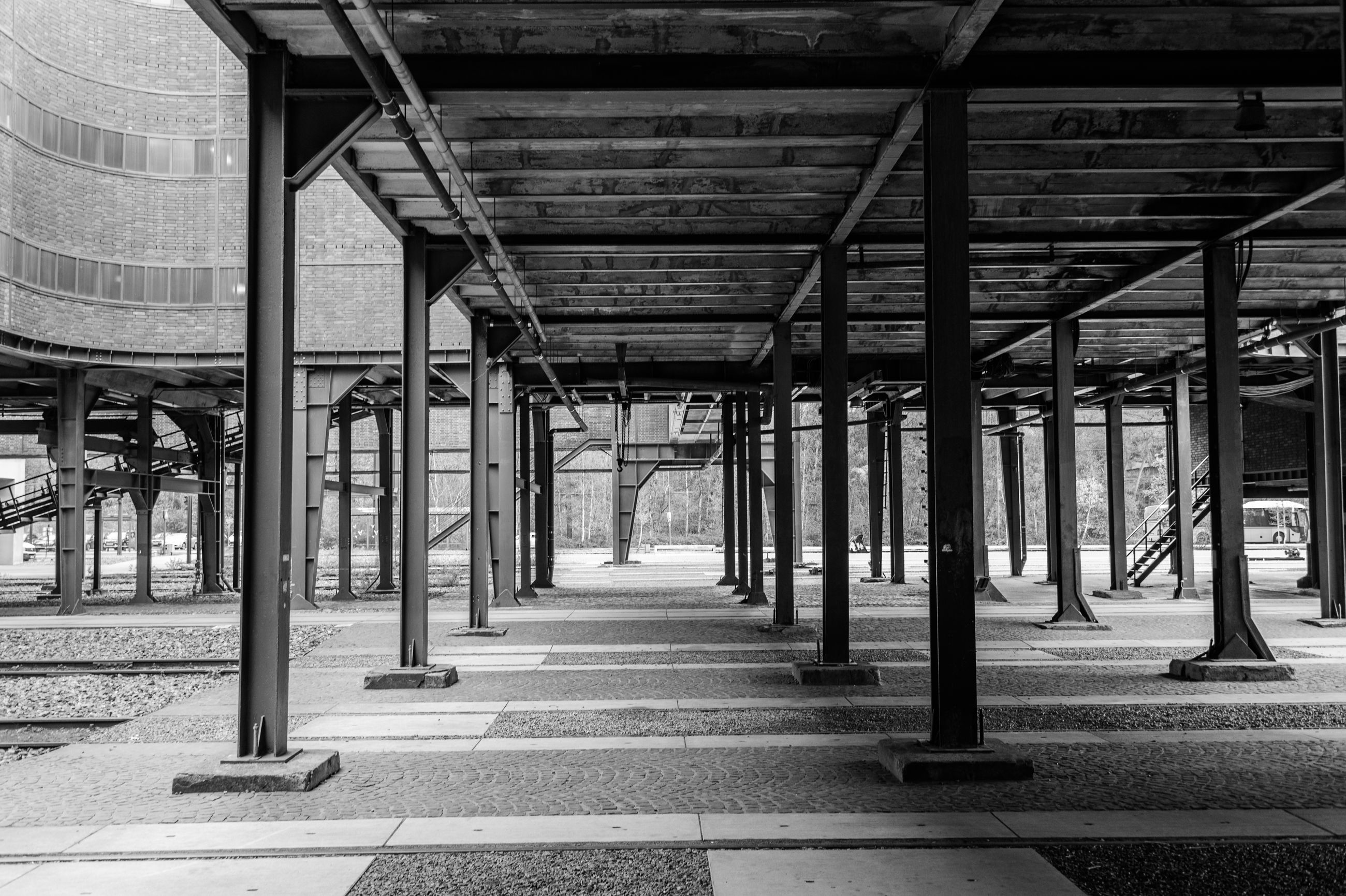 built structure, architecture, no people, indoors, day, metal, architectural column, travel destinations, city