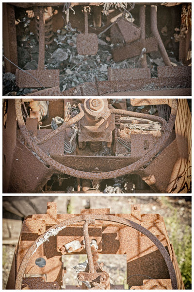 Steering Wheel Adjust Ancient Architecture Built Structure Burned Burnt Close-up Day History No People Old Ornate Outdoors Part Of Rust Rusted Rusty Stone Material The Past Tractor Travel Destinations
