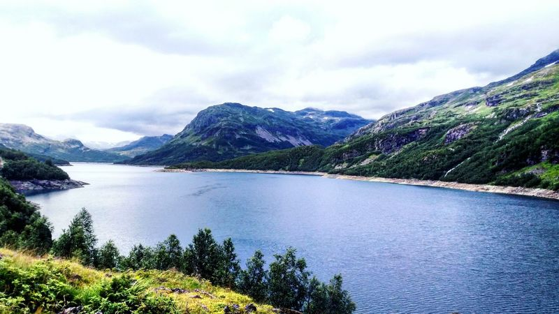 Throwback to 2016 when I was so in love with every nordic landscape ❤ NorthtripMountain Landscape Scenics Mountain Range Mountain Peak Outdoors No People Cloud - Sky Nature Beauty In Nature Tree Travel Destinations Day Water Sky Norway Travel Photography Travel Tourism Beauty In Nature Nature Loveit Fiordo At Norway