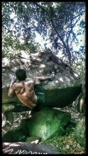Enjoying Life @!!Mushroom boulder!!!!!!