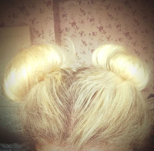 Делала ушки Минни Маус! 😊 уши прическа волосы Hair Minimouse