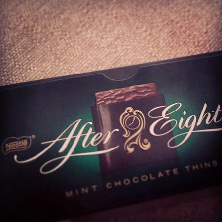 Cikolata yiyemiyor olsam da, yiyebildigim gun ilk tercihim sensin Aftereight Mint Chocolate Nestle