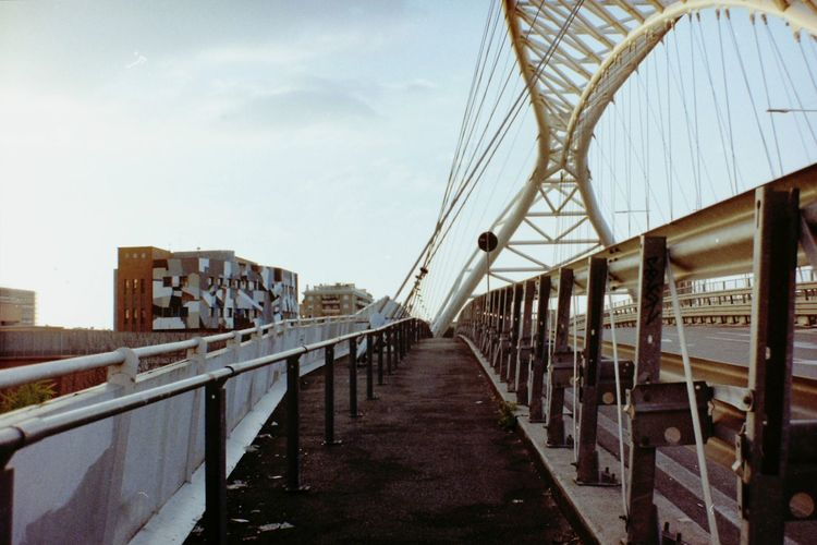 Street Perspective Perspective Photography Film Photography Lomography vanishing point Architecture Bridge Urban Landscape City Cityscape Buildings Outdoors Day City No People