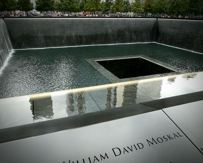 Waterfall Reflecting Pool Memorial 9/11 Memorial A Special Place Always Flowing Always With Love ALWAYS REMEMBER Names Carved Black Granite Ground Zero, NYC Famous Place Special Moment A Special Feeling EyeEm Best Shots