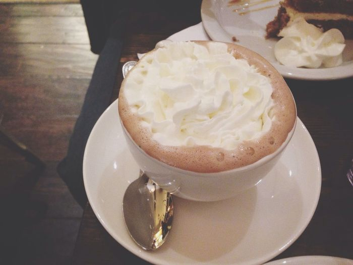 Nutella hot chocolate yumm