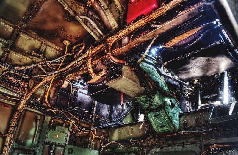 Aviation museum No People Indoors  Close-up Damaged Still Life Night Metal
