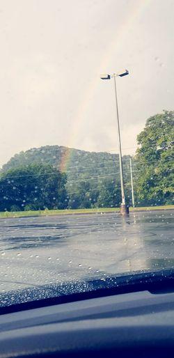 rainy days Rainbows Sky Clouds Water Spraying Sky