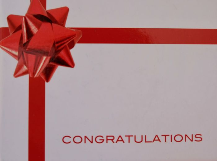 Celebration Close-up CONGRATS🎉🎈🎈🎉🎉 Congratulation Congratulations Day Felicity Habbybirthday Happy Birthday Happy Birthday! Happy Time Indoors  No People Party - Social Event Party Time Red Ribbon - Sewing Item