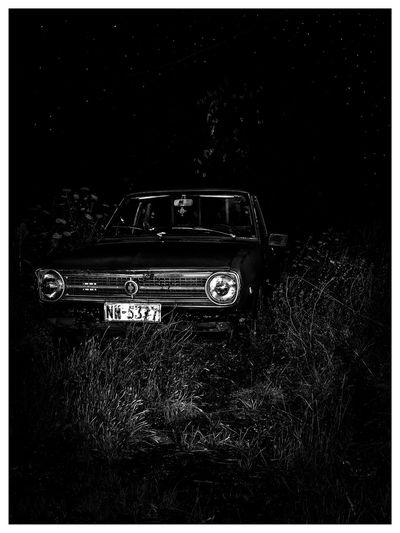 Stars NewHere ✌🏽️😄 No People Outdoors Car Stars Oldcar Oldcars Night Nightphotography
