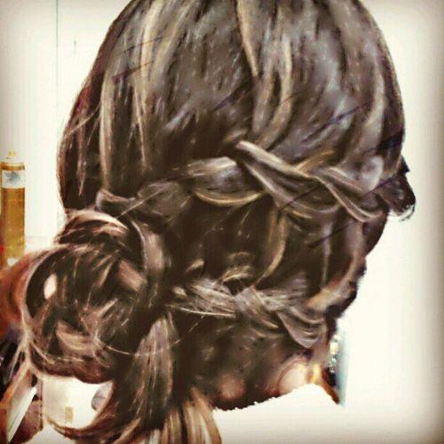 Hairstyle Hairdesing Fashionhair Workhair salon coiffeur salao beleza forwoman mujer bella beautiful style penteados cabelos