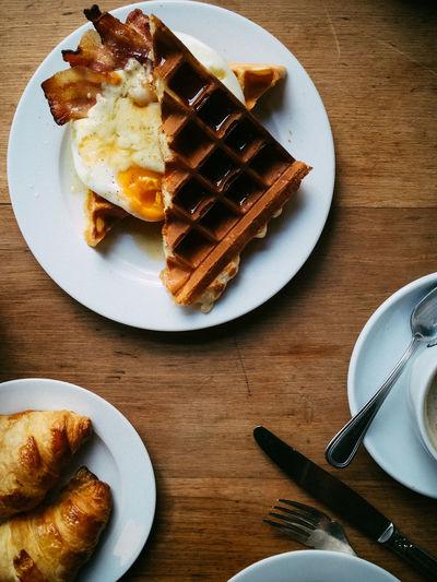 Waffle, baked
