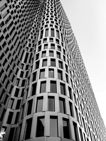 obligatory upper west building Exterior Façade Kudamm Upper West Upper West Berlin Architecture Black And White Blackandwhite Building Exterior Built Structure City Clear Sky Day Growth Low Angle View Modern No People Outdoors Sky Skyscraper Tall The Architect - 2018 EyeEm Awards