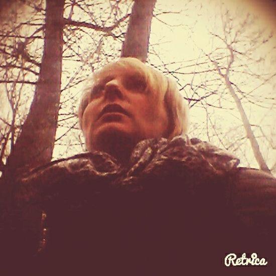 Relaxing Wood Friends Selfie ....ein toller Tag ;)