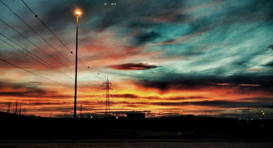 Puesta de sol - when sun comes down