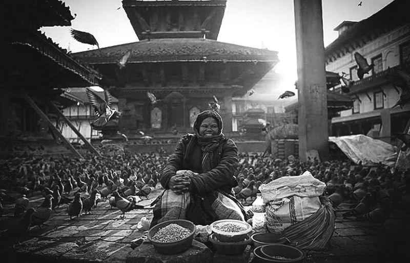 Basantapur Nepal Day Traditional Clothing EyeEmNewHere