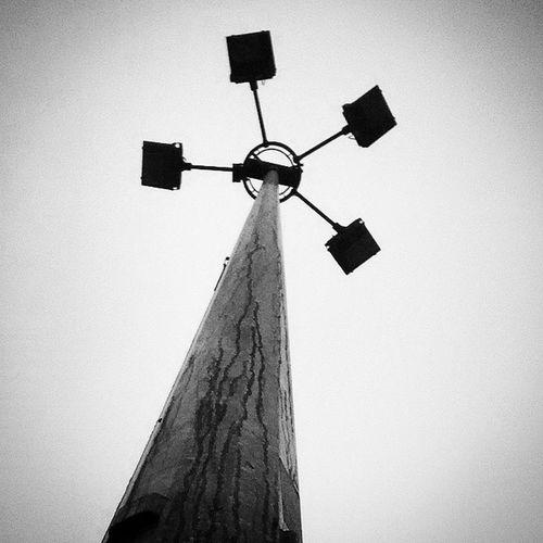 Light under the darkness !! Unique Tower Black White Light Dark Instaclick