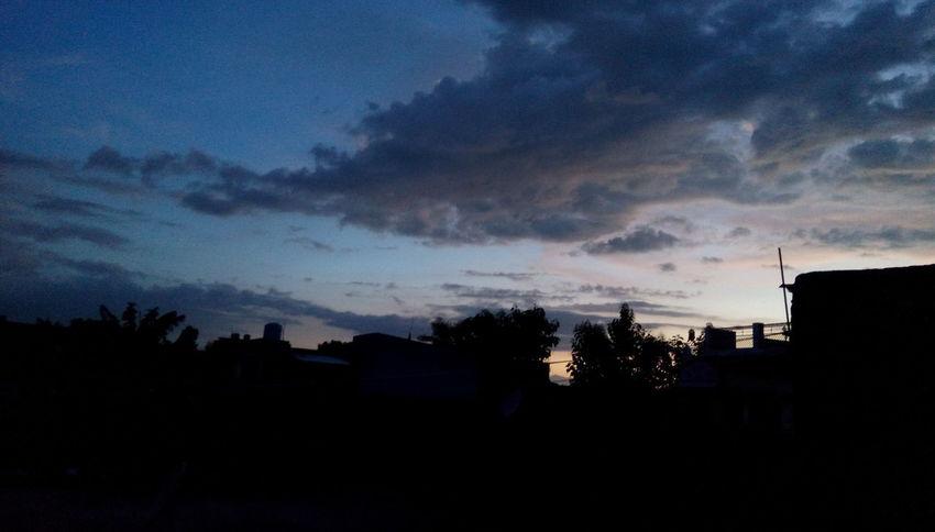 Mansoon days Dramatic Sky Nature Sky Tree