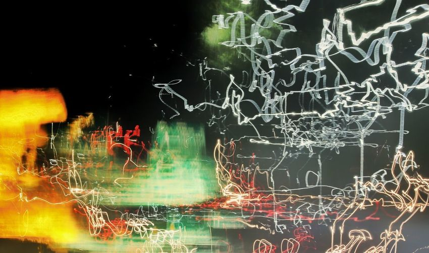 Night No People Science Illuminated Technology Indoors  Night Lights Digital Paint Digital Painting Light Celebration Music Performing Arts Event Arts Culture And Entertainment Nightlife Performance Full Length Focus On Foreground City Abstract Abstract Art