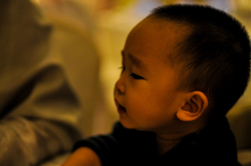 Childhood Close-up Contemplation Cute Front View Happiness Head And Shoulders Headshot Human Face Innocence Lifestyles Looking At Camera Person Portrait Real People Young Adult