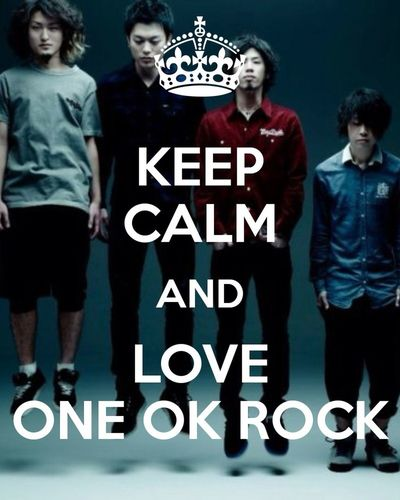 Love them❤️ my favorite rock band! ONE OK ROCK Japan Rock N Roll Music