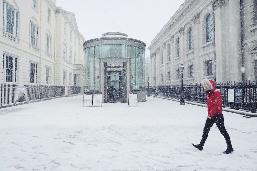 Winter Cold Temperature Snow Architecture Built Structure Building Exterior Weather