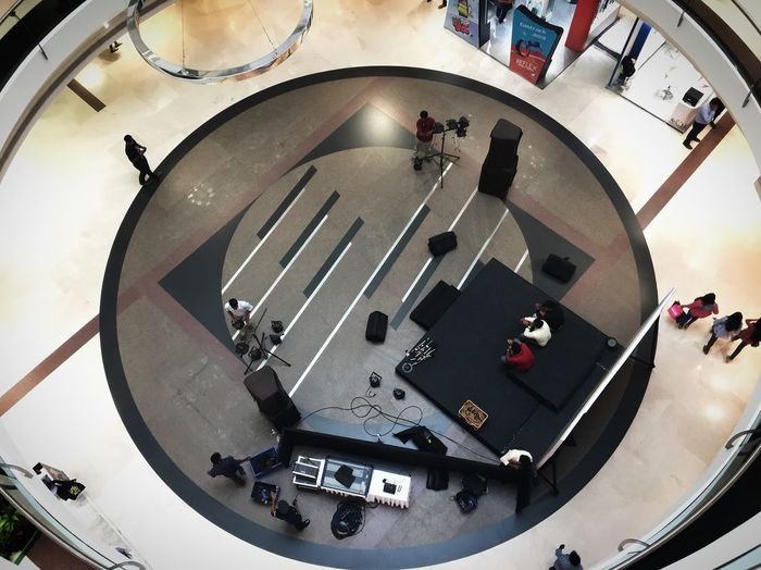 Design Mall Archetecture Hoise BYOPaper! High Angle View Fish-eye Lens Musical Instrument Music Arts Culture And Entertainment Large Group Of People Go Higher