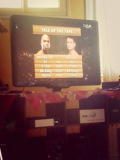 MAYWEATHER (y) ft MAIDANA Boxing Delire! Dad Life xdd!