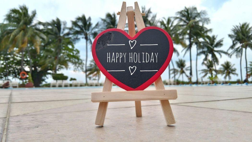 Heart Shape Love Valentine's Day - Holiday Romance Christmas Celebration Tree No People Outdoors Day