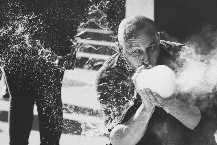 Real People Lifestyles Leisure Activity Front View People Portrait The Street Photographer - 2018 EyeEm Awards Motion Splashing Water