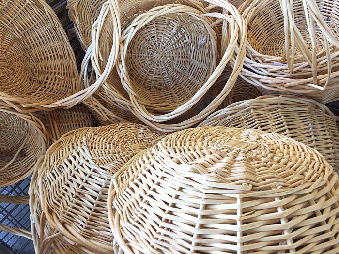 Detail Shot Of Baskets