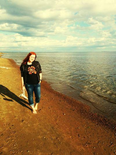 Верните меня обратно Taking Photos Hello World Walking On The Beach Sea And Sky Sait-petersburg Summertime Sun_collection Simple Moment