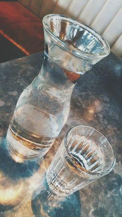 Water Drinking Water Water Jar Water Jug Water Beaker Serving Drinks Serving A Drink Glass Of Water Glass Of Water On Table Glass Of Water With Jar
