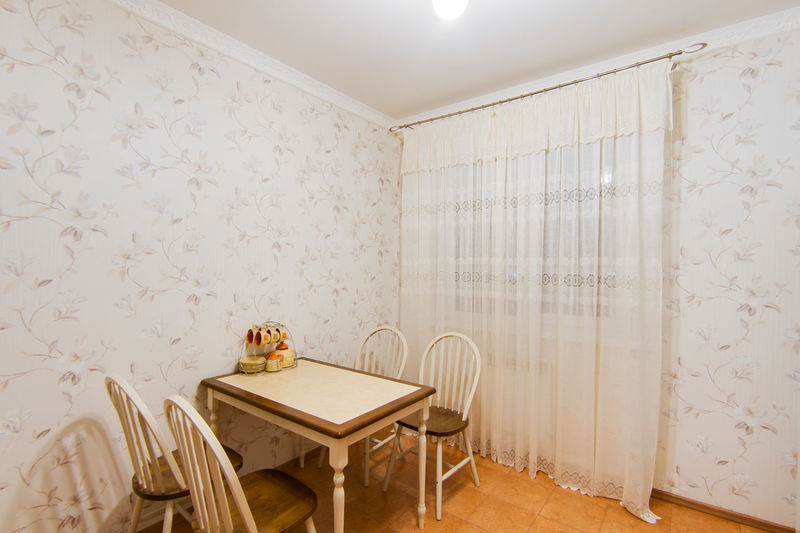 Seat Indoors  Chair Table Home Interior Wall - Building Feature No People Domestic Room Furniture Empty Absence Wood - Material Architecture Lighting Equipment Flooring Built Structure Stool Home Illuminated Pattern Tiled Floor Ceiling Electric Lamp Floral Pattern