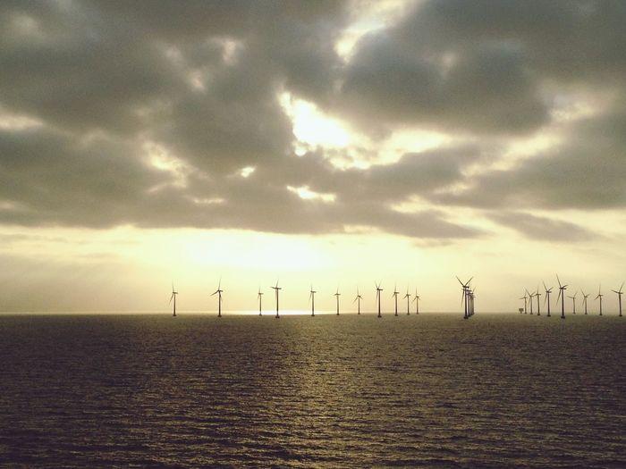 Dawn Sea And Sky