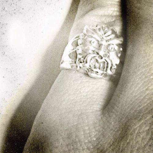 **new vintage find** El Diablo Native American Indian Sterling Ring Vintagejewelry Jewelry