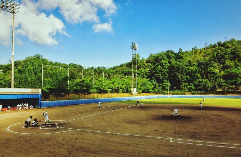 今日は中学校の総体。一撃かましてやれ! EyeEm Japan Enjoying Life Taking Photos Baseball 野球 Junior High School