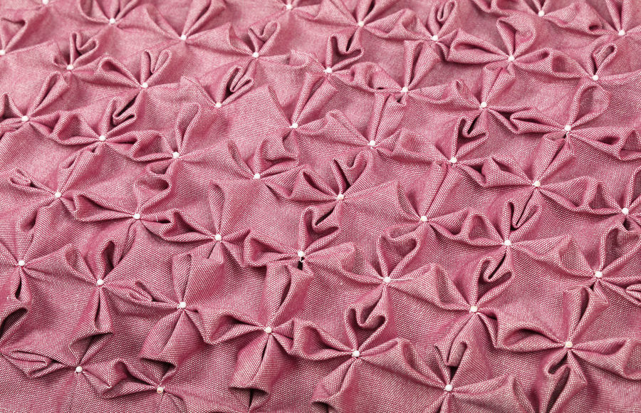Pink, roze color luxury crumpled capitone flowers, Chesterfield style Backgrounds Capitone Chesterfield Close-up Crumpled Decoration Fabric Full Frame Furniture Girly Handmade Interior Interior Design Luxury Millennial Pink Pattern Pearls Pink Pink Color Premium Retro Roze Style Textile Textured