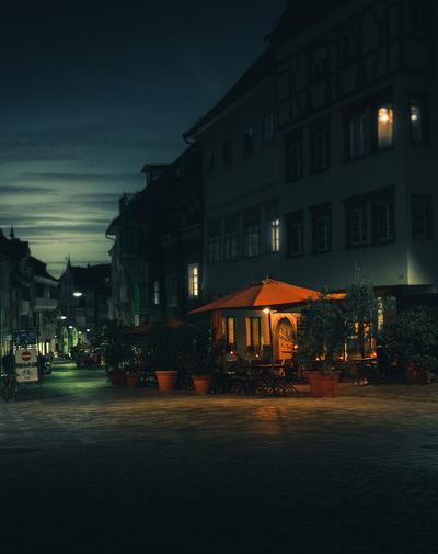 late night café