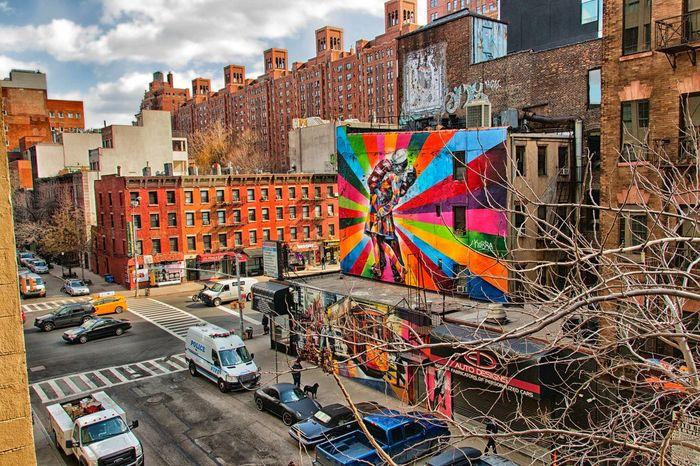 New York City HighLineParkNYC