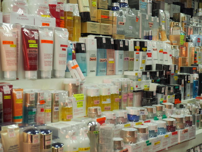 Aging Brands  Choice Consumerism Cosmetics Day For Sale Luxury Brands Multi Colored No People Skin Care Skin Products Supermarket