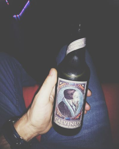Drink #beer Food And Drink Vscocam #vsco Human Hand Men Human Leg