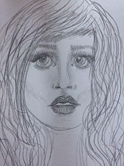 Pencil Sketch  Art Drawing