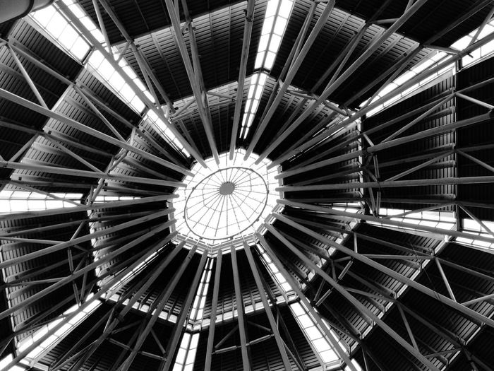Low Angle View Ceiling Indoors  No People Built Structure Architecture Dome Architectural Design Day Suria KLCC Kuala Lumpur Malaysia